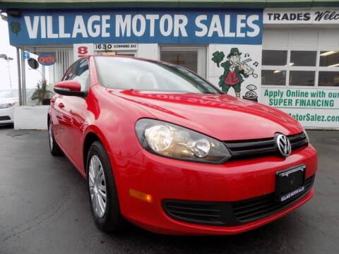2014 Volkswagen Golf for sale at Village Motor Sales in Buffalo NY