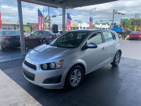 2016 Chevrolet Sonic for sale at American Auto Sales in Hialeah FL