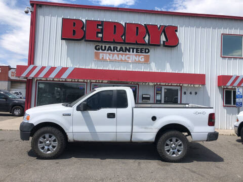 2008 Ford F-150 for sale at Berry's Cherries Auto in Billings MT