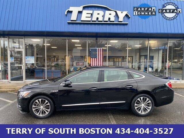 2017 Buick LaCrosse for sale at Terry of South Boston in South Boston VA