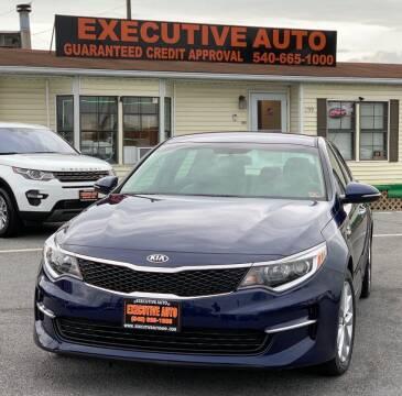 2018 Kia Optima for sale at Executive Auto in Winchester VA