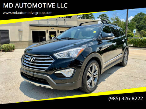 2015 Hyundai Santa Fe for sale at MD AUTOMOTIVE LLC in Slidell LA