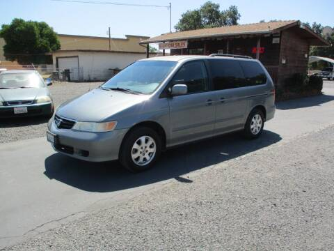 2002 Honda Odyssey for sale at Manzanita Car Sales in Gridley CA