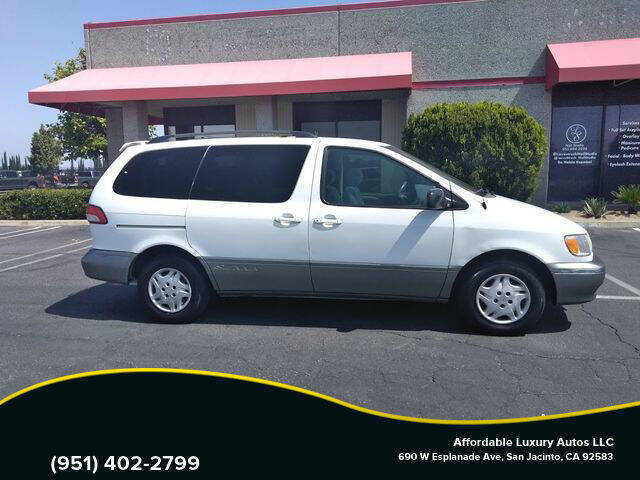 2003 Toyota Sienna for sale at Affordable Luxury Autos LLC in San Jacinto CA