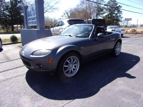 2007 Mazda MX-5 Miata for sale at Good To Go Auto Sales in Mcdonough GA