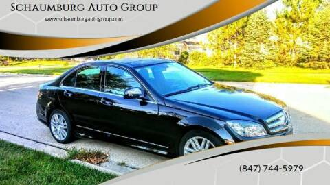 2009 Mercedes-Benz C-Class for sale at Schaumburg Auto Group in Schaumburg IL