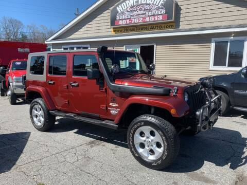 2007 Jeep Wrangler Unlimited for sale at Home Towne Auto Sales in North Smithfield RI