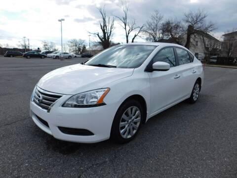 2013 Nissan Sentra for sale at AMERICAR INC in Laurel MD