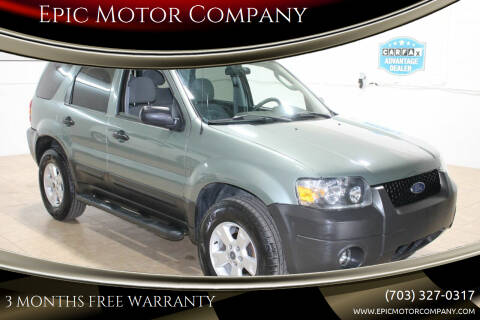 2006 Ford Escape for sale at Epic Motor Company in Chantilly VA