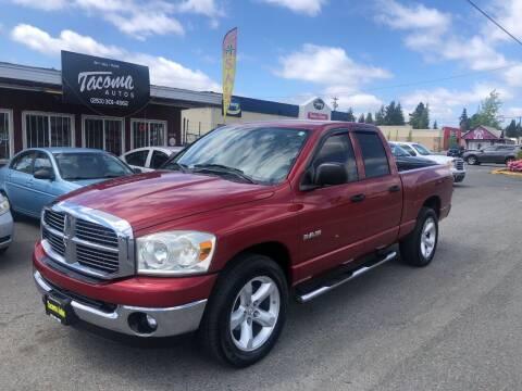2008 Dodge Ram Pickup 1500 for sale at Tacoma Autos LLC in Tacoma WA