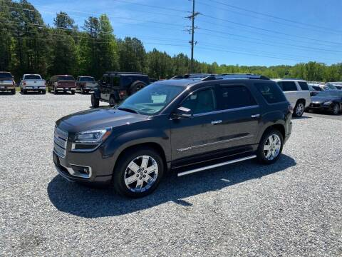 2015 GMC Acadia for sale at Billy Ballew Motorsports in Dawsonville GA