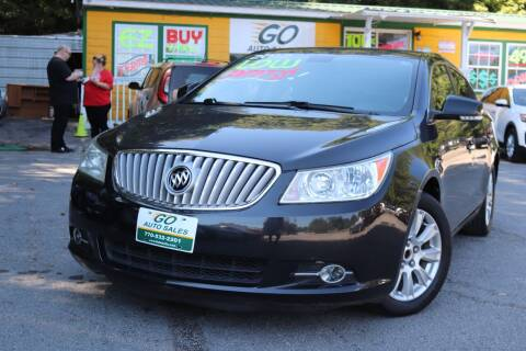 2012 Buick LaCrosse for sale at Go Auto Sales in Gainesville GA
