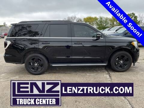 2019 Ford Expedition for sale at LENZ TRUCK CENTER in Fond Du Lac WI