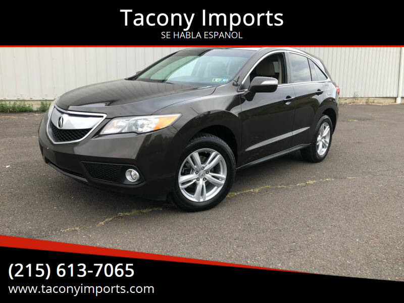 2014 Acura RDX for sale at Tacony Imports in Philadelphia PA