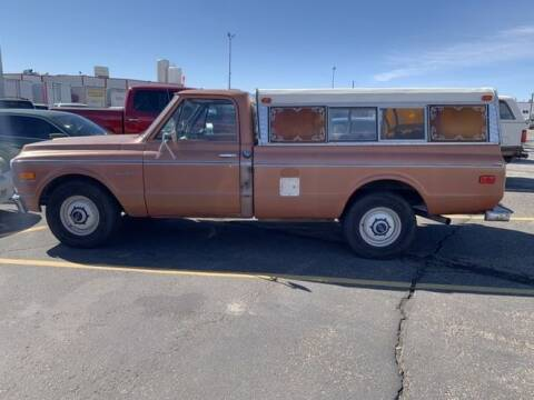 1972 Chevrolet C/K 2500 Series for sale at Classic Car Deals in Cadillac MI
