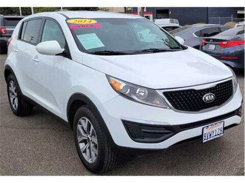 2014 Kia Sportage for sale at ATWATER AUTO WORLD in Atwater CA