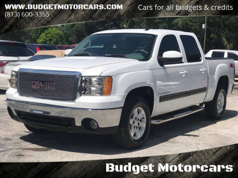 2007 GMC Sierra 1500 for sale at Budget Motorcars in Tampa FL