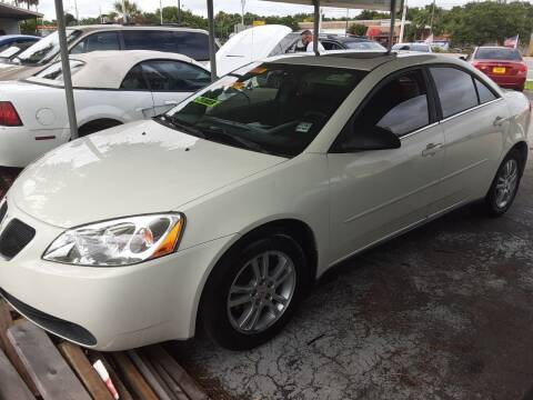 2006 Pontiac G6 for sale at Easy Credit Auto Sales in Cocoa FL