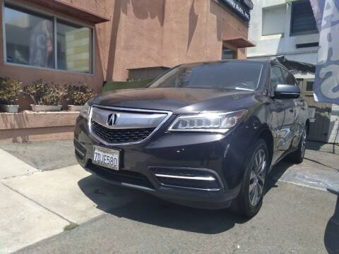 2014 Acura MDX for sale at Western Motors Inc in Los Angeles CA