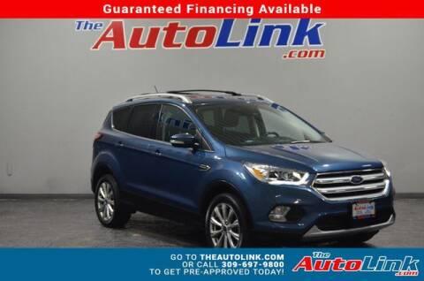 2018 Ford Escape for sale at The Auto Link Inc. in Bartonville IL