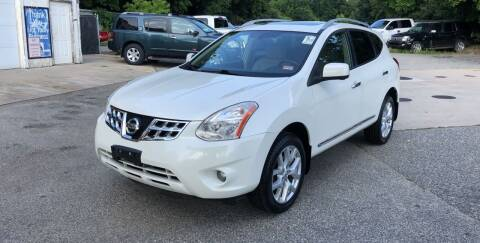2012 Nissan Rogue for sale at Barga Motors in Tewksbury MA