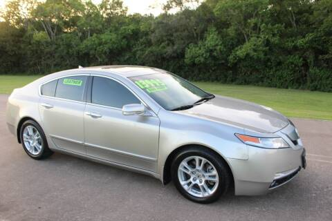 2010 Acura TL for sale at Clear Lake Auto World in League City TX