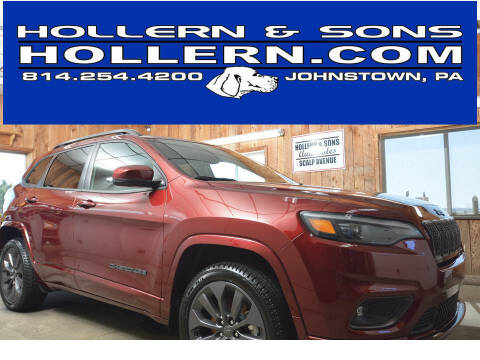 2019 Jeep Cherokee for sale at Hollern & Sons Auto Sales in Johnstown PA