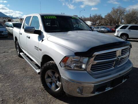 2013 RAM Ram Pickup 1500 for sale at Canyon View Auto Sales in Cedar City UT