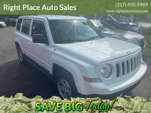2015 Jeep Patriot for sale at Right Place Auto Sales in Indianapolis IN