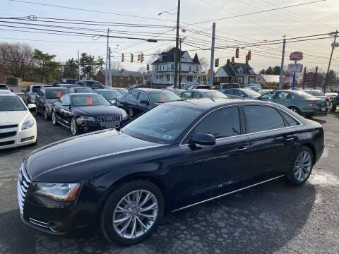 2012 Audi A8 L for sale at Masic Motors, Inc. in Harrisburg PA