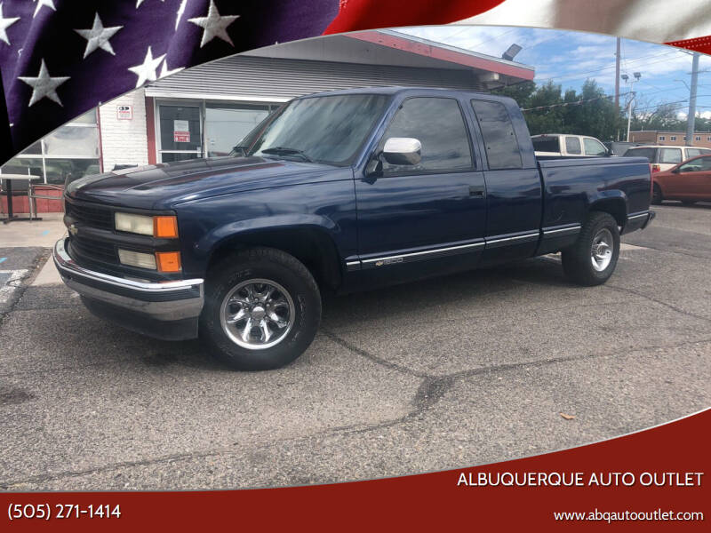 1994 Chevrolet C/K 1500 Series for sale at ALBUQUERQUE AUTO OUTLET in Albuquerque NM