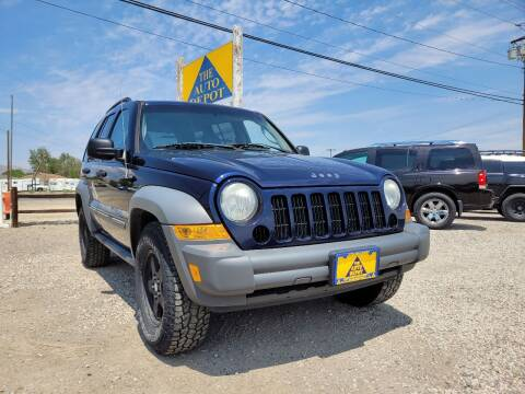 2005 Jeep Liberty for sale at Auto Depot in Carson City NV