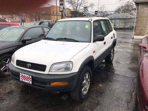 1997 Toyota RAV4 for sale at GREAT AUTO RACE in Chicago IL
