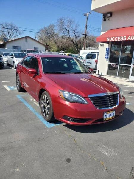 2013 Chrysler 200 for sale at Success Auto Sales & Service in Citrus Heights CA