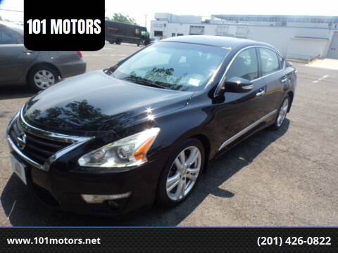 2015 Nissan Altima for sale at 101 MOTORS in Hasbrouck Heights NJ