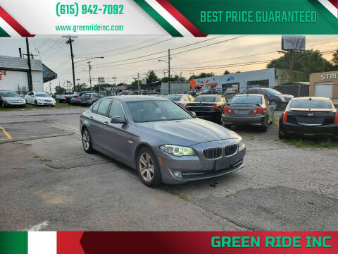 2011 BMW 5 Series for sale at Green Ride Inc in Nashville TN