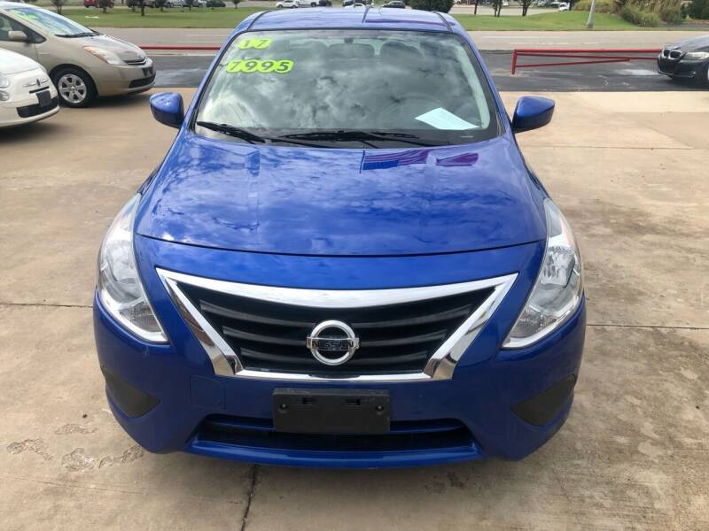 2017 Nissan Versa for sale at Moore Imports Auto in Moore OK