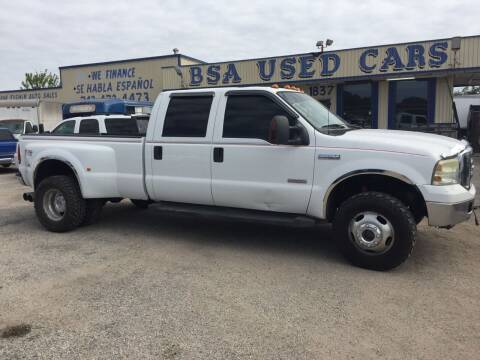 2007 Ford F-350 Super Duty for sale at BSA Used Cars in Pasadena TX