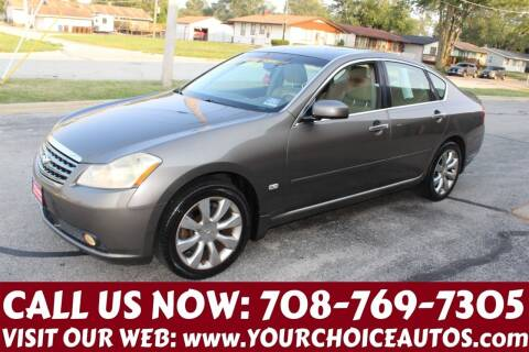 2006 Infiniti M35 for sale at Your Choice Autos in Posen IL