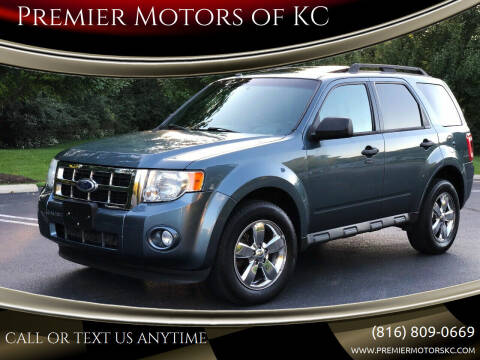 2010 Ford Escape for sale at Premier Motors of KC in Kansas City MO