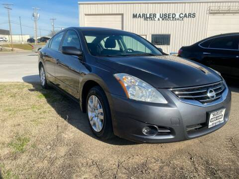 2010 Nissan Altima for sale at MARLER USED CARS in Gainesville TX
