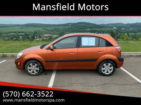 2009 Kia Rio5 for sale at Mansfield Motors in Mansfield PA