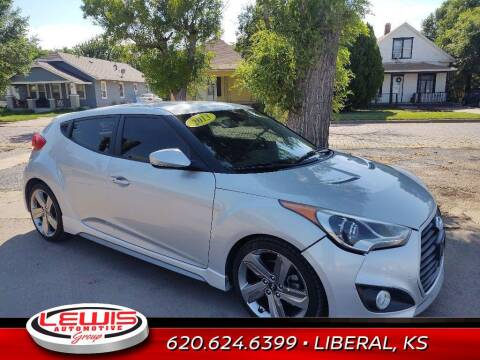 2013 Hyundai Veloster for sale at Lewis Chevrolet Buick of Liberal in Liberal KS