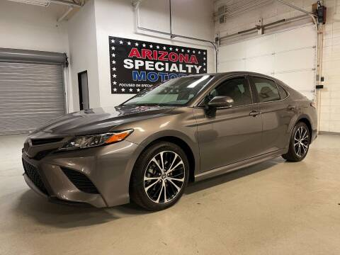 2018 Toyota Camry for sale at Arizona Specialty Motors in Tempe AZ