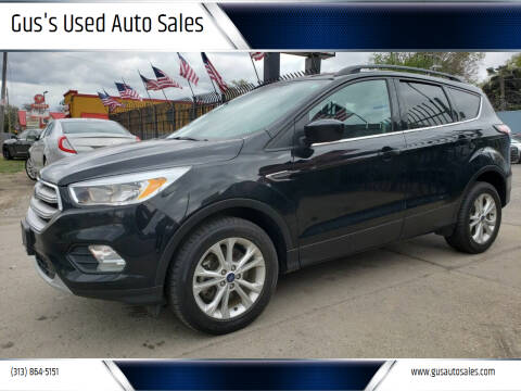 2018 Ford Escape for sale at Gus's Used Auto Sales in Detroit MI