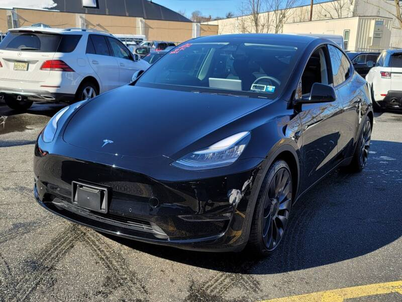 2020 Tesla Model Y for sale at AW Auto & Truck Wholesalers  Inc. in Hasbrouck Heights NJ