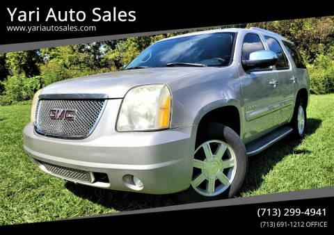2007 GMC Yukon for sale at Yari Auto Sales in Houston TX