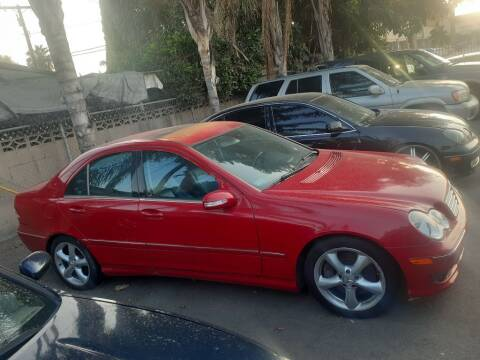 2005 Mercedes-Benz C-Class for sale at RN AUTO GROUP in San Bernardino CA