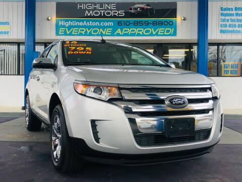 2014 Ford Edge for sale at Highline Motors in Aston PA