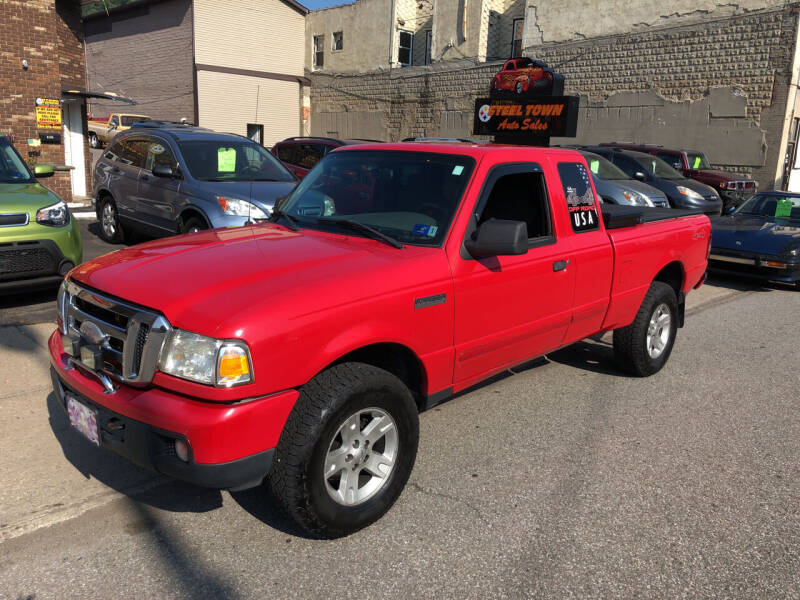 2006 Ford Ranger for sale at STEEL TOWN PRE OWNED AUTO SALES in Weirton WV